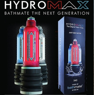 Bathmate HydroMax X30 improved powerfull hydropump